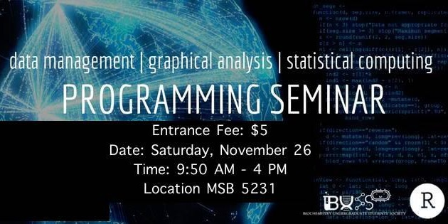 BUSS Presents: Programming Seminar